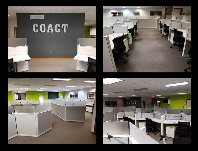 COACT Associates new office layout
