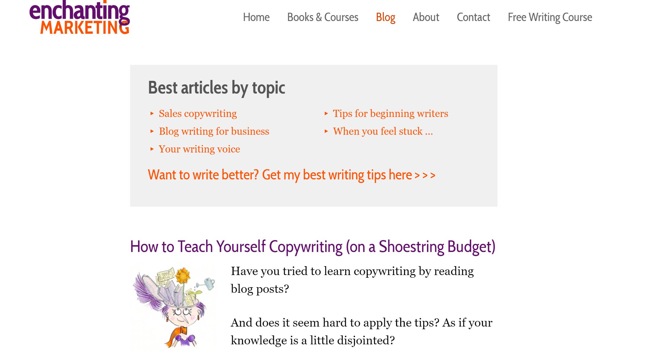 Enchanting Marketing Blog
