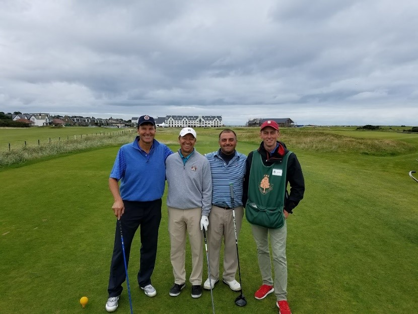 Mark Frasco Carnoustie 2017