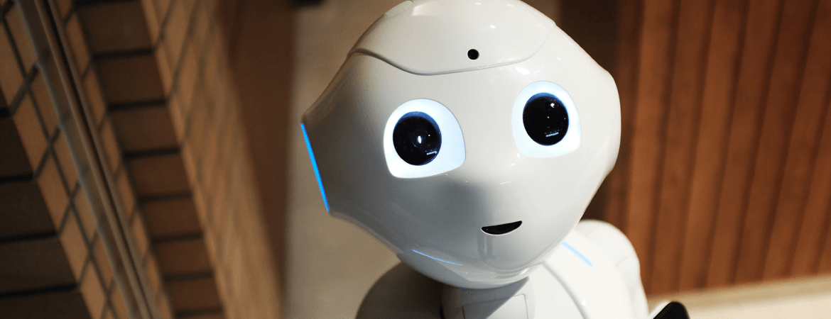 robot artificial intelligence technologies smiling bot supply chain industry