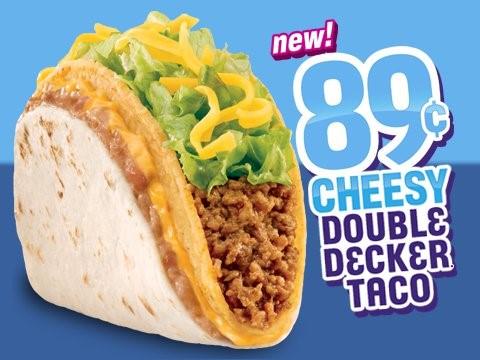 Taco Bell 89 cheesy