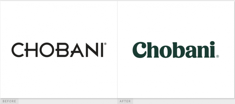 Chobani UnderConsideration Brand New